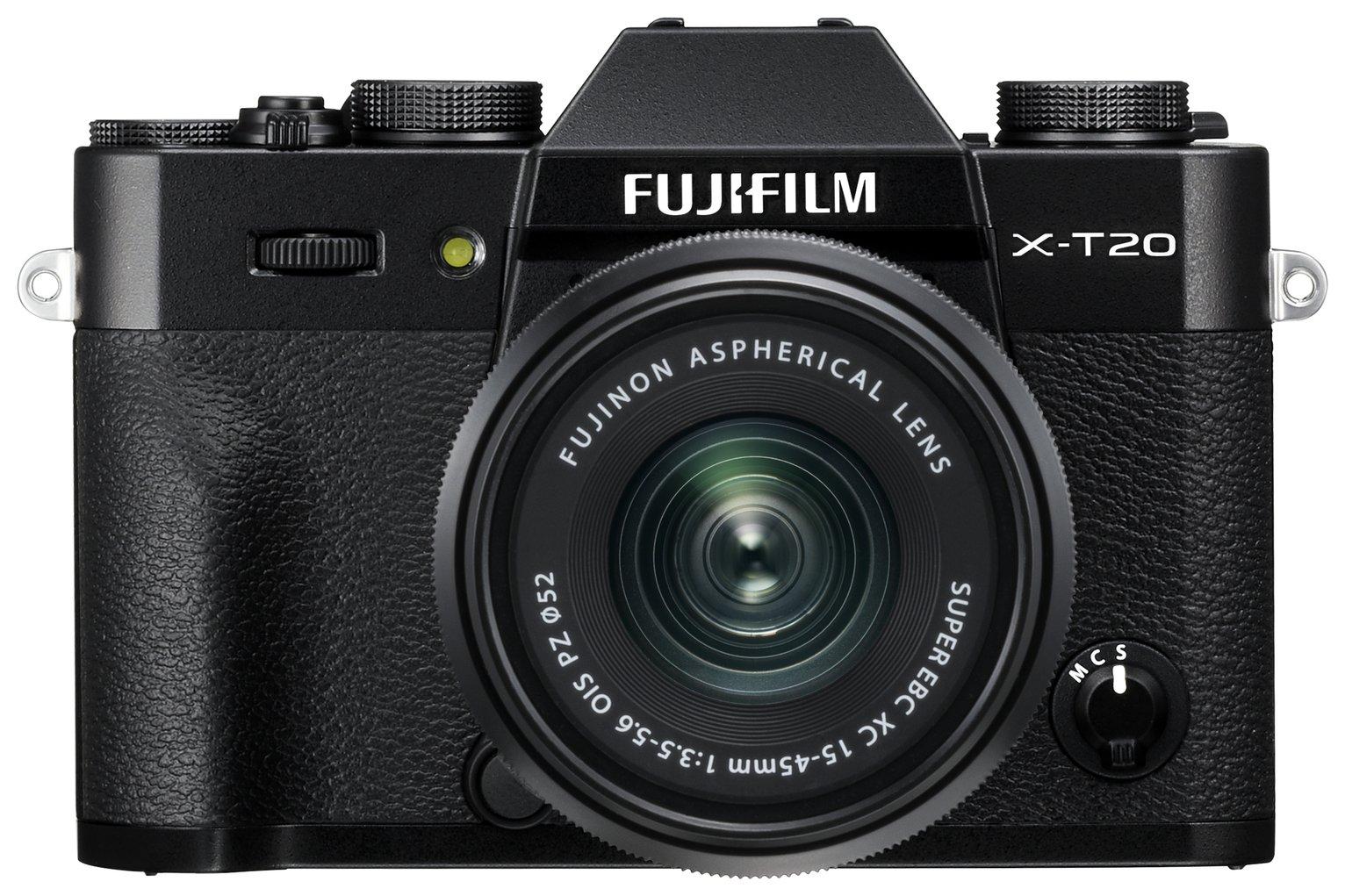Fujifilm X-T20 Mirrorless Camera With 15-45mm Lens