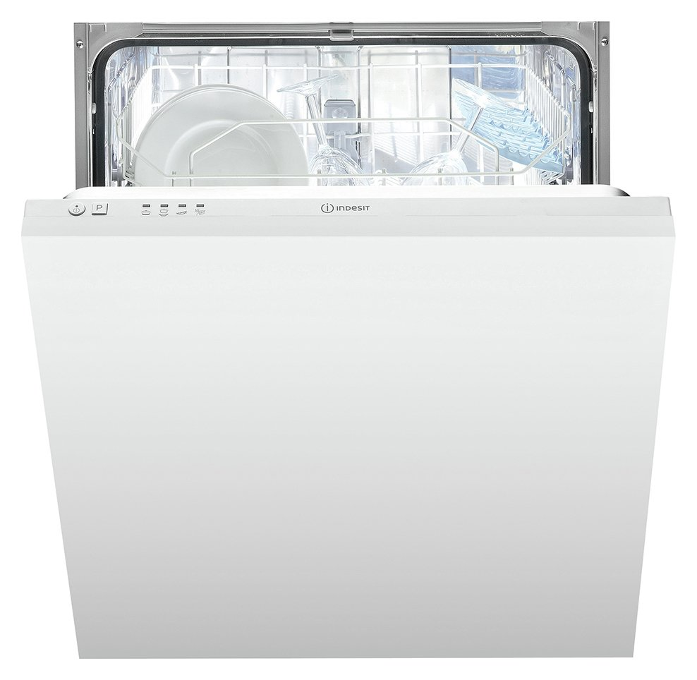 Indesit DIF04BUK Integrated Dishwasher - White