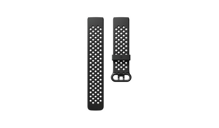 Fitbit Charge 3 Smart Watch Black Band - Small