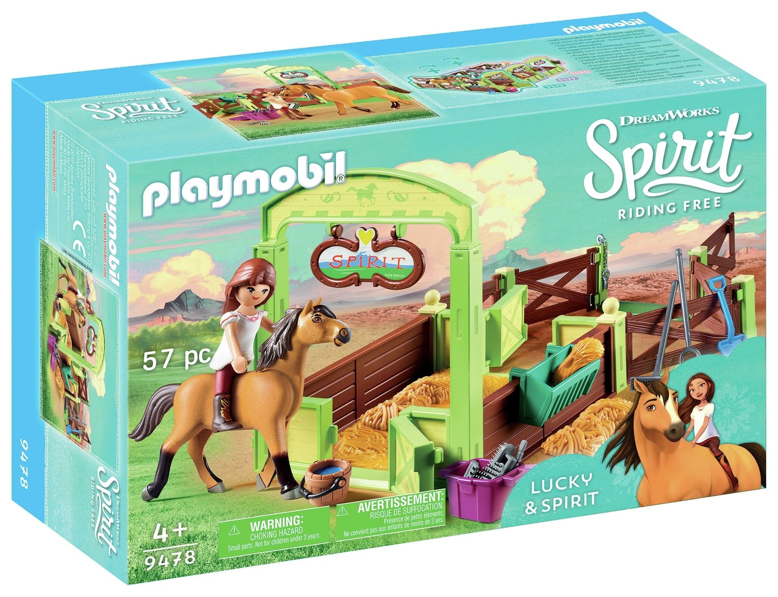 DreamWorks Spirit 9478 Lucky And Spirit By Playmobil