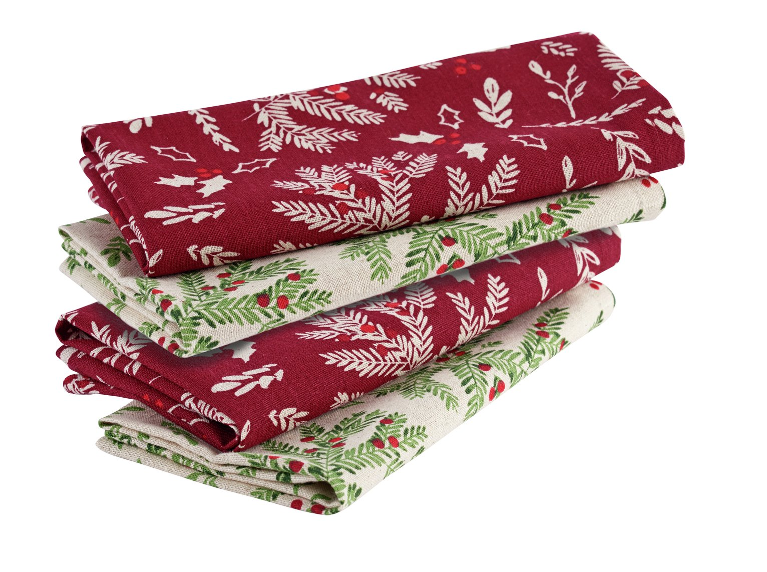 Argos Home Set of 4 Forest Hideaway Napkins