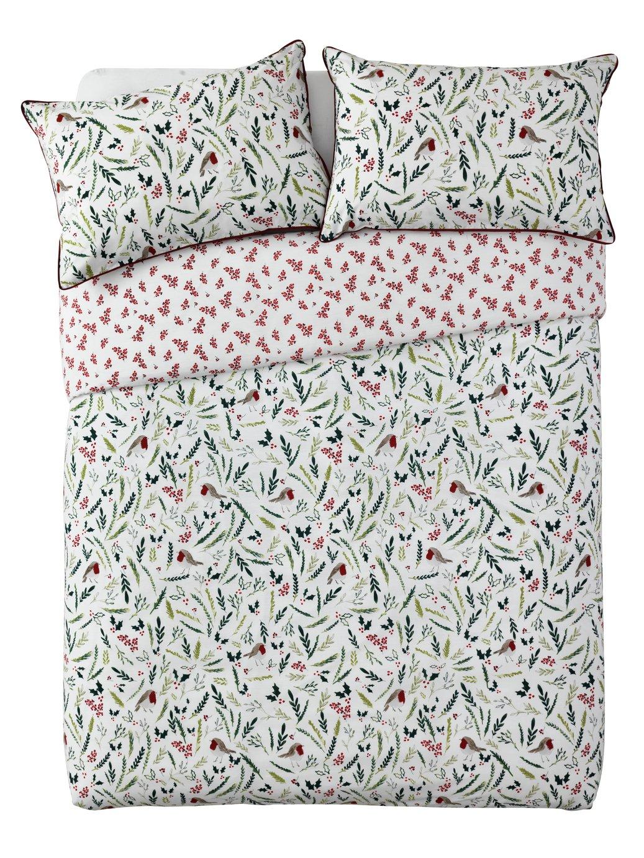 Buy Argos Home Mistletoe Floral Bedding Set Double Duvet Cover
