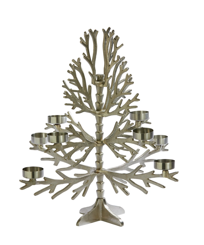 Sainsbury's Home Large Christmas Tree Tealight Holder
