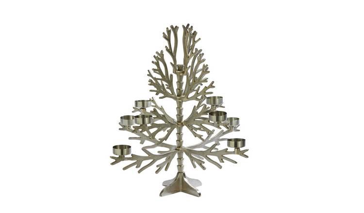Buy Sainsbury's Home Large Christmas Tree Tealight Holder