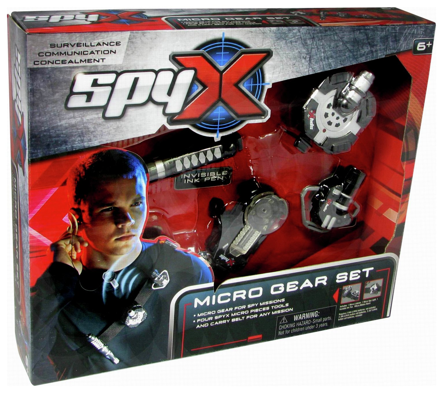 SpyX Micro Spy Gear Set