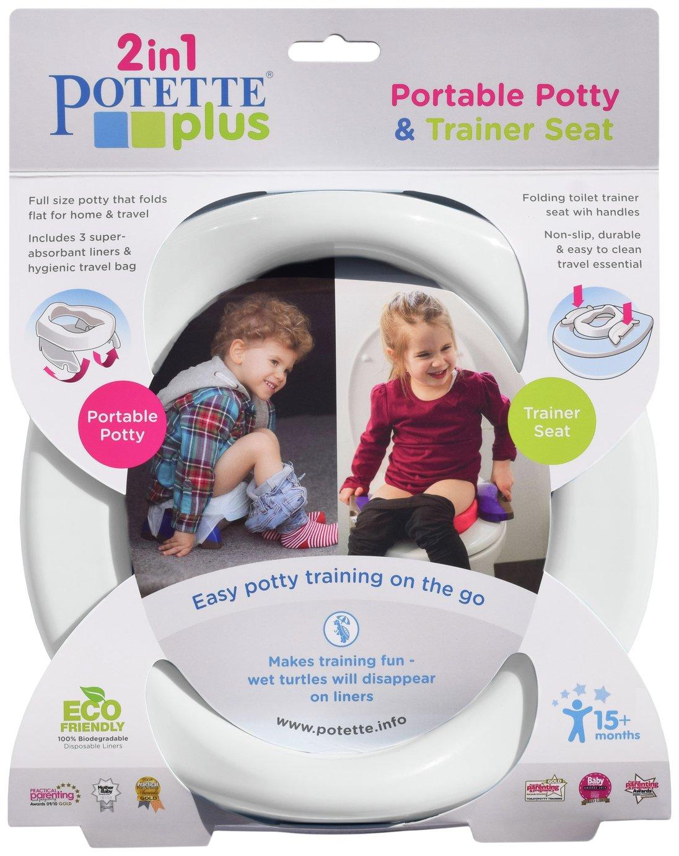 Potette Plus Fold Away Travel Potty