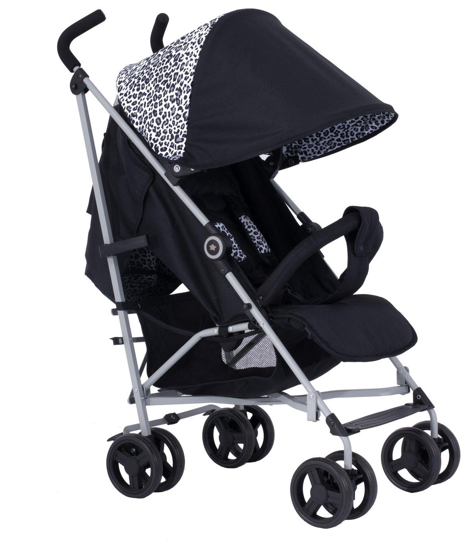 My Babiie Sam Faiers MB02 Stroller - Black Leopard