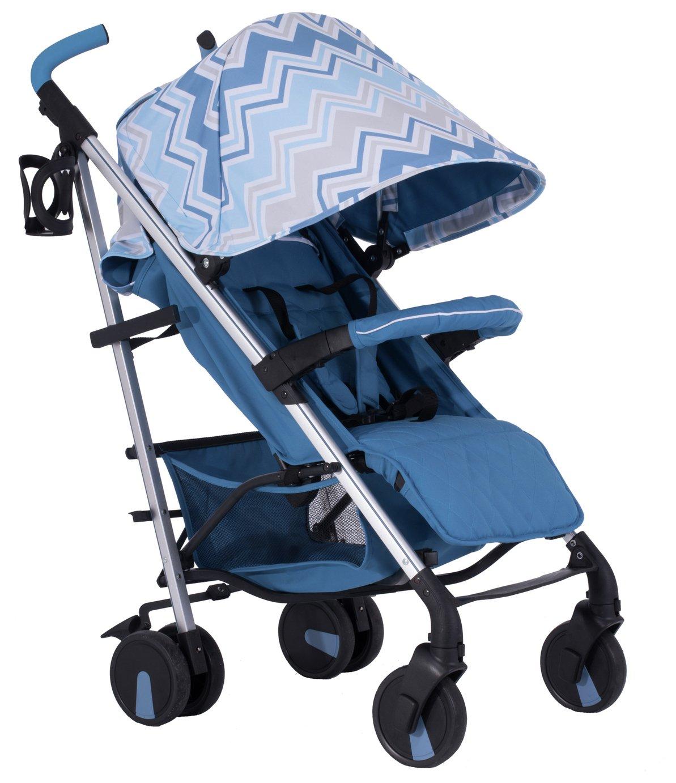 My Babiie Sam Faiers MB51 Stroller - Blue Chevron