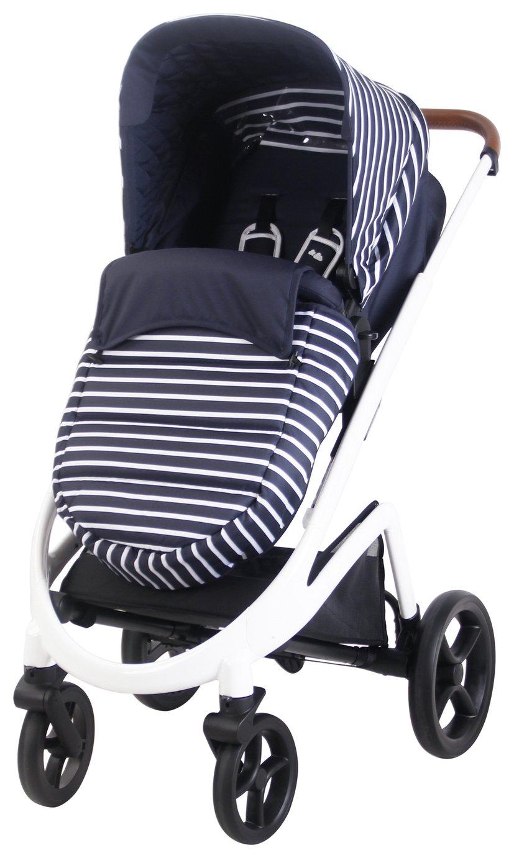 My Babiie Sam Faiers MB300 Stripes Pushchair - Blue