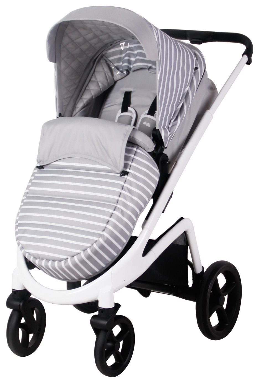 My Babiie Sam Faiers MB300 Stripes Pushchair - Grey
