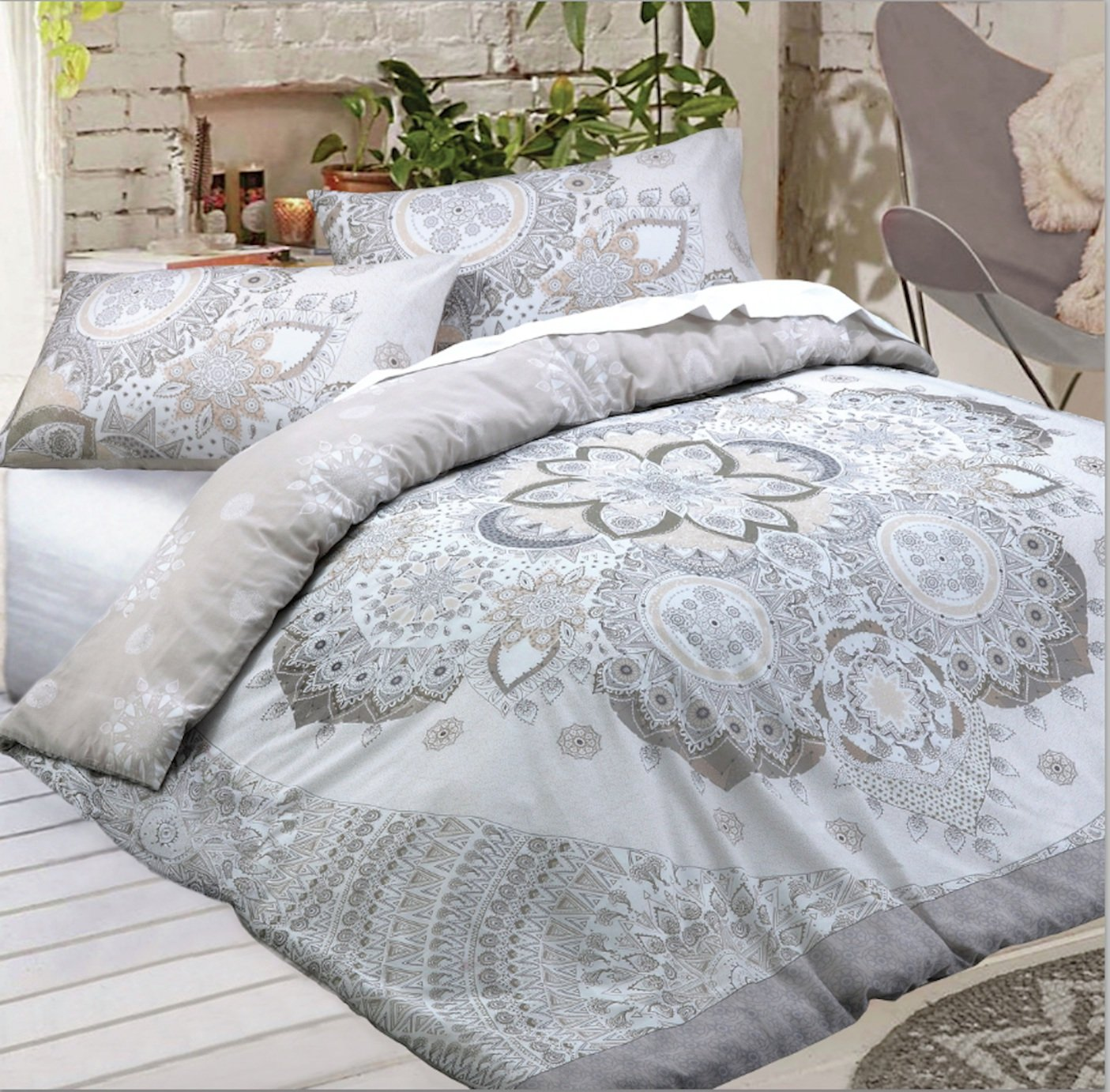 Argos Home Celestrial Mandala Bedding Set - Double