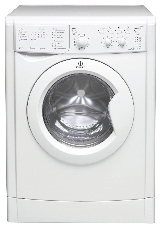 Indesit IWDC6125 6/5KG Washer Dryer - White