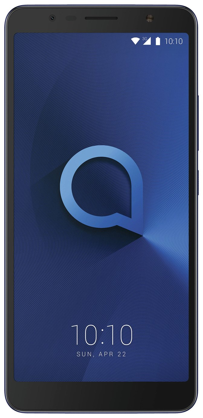SIM Free Alcatel 3C 16GB Mobile Phone - Blue
