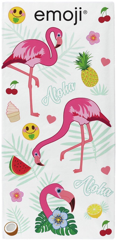 Emoji Flamingo Towel