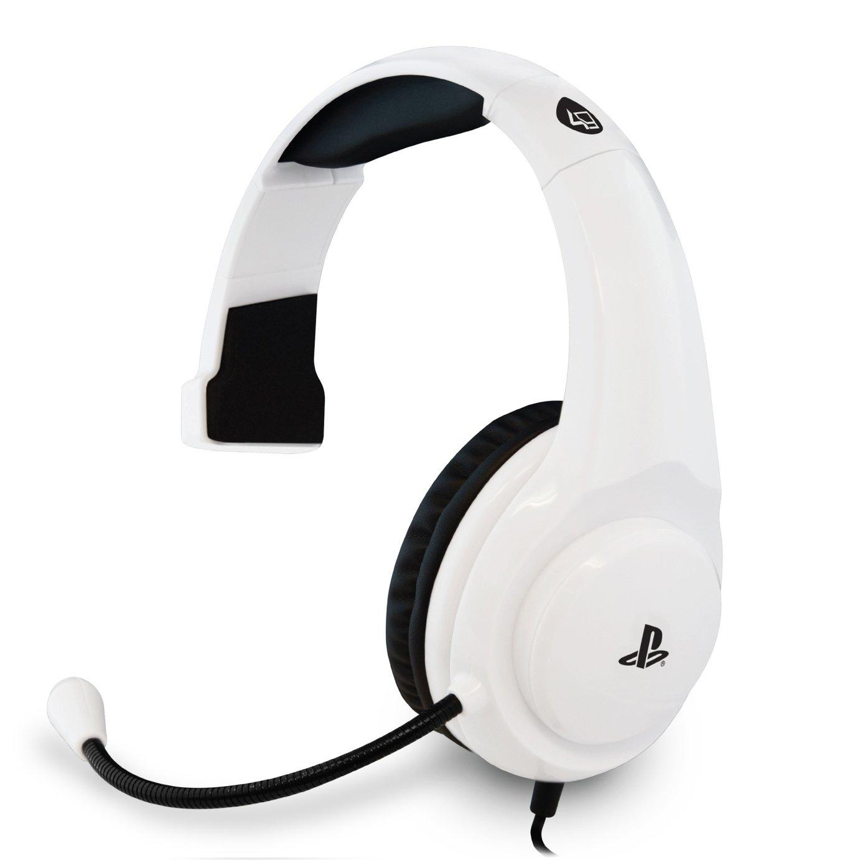 4Gamers PRO4-Mono PS4 Headset - White