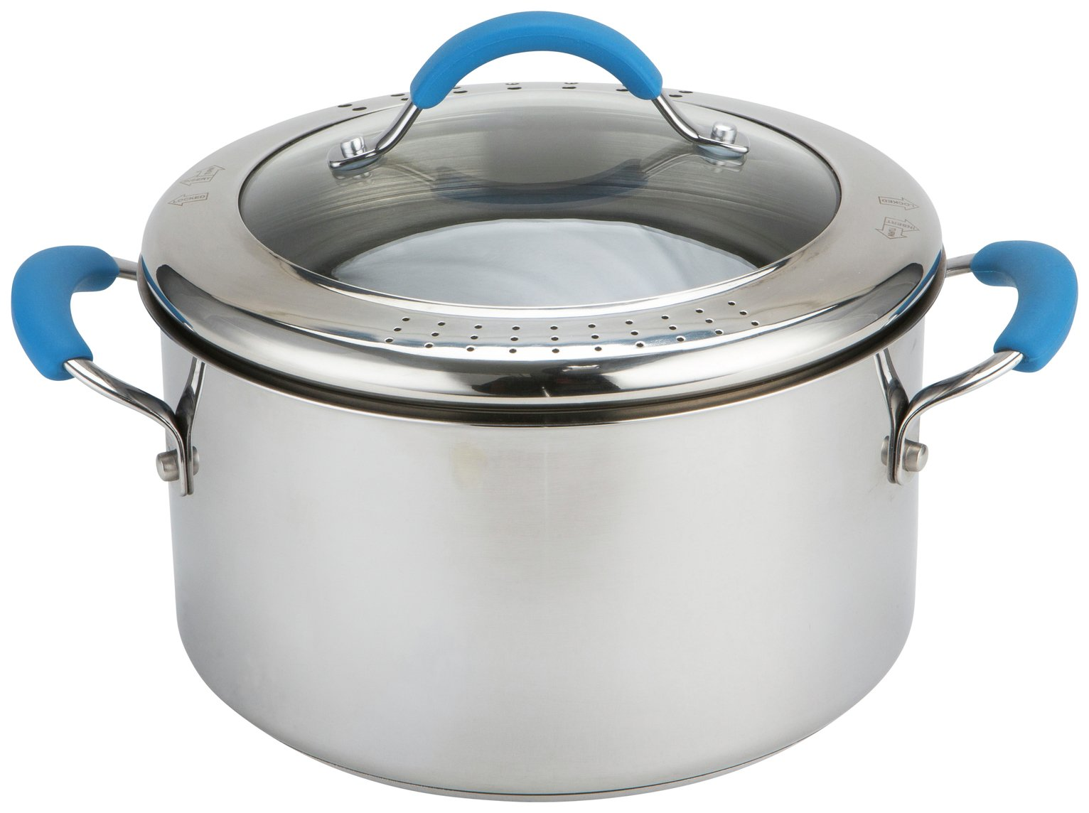 Joe Wicks Quick and Easy 24cm Stainless Steel Stock Pot