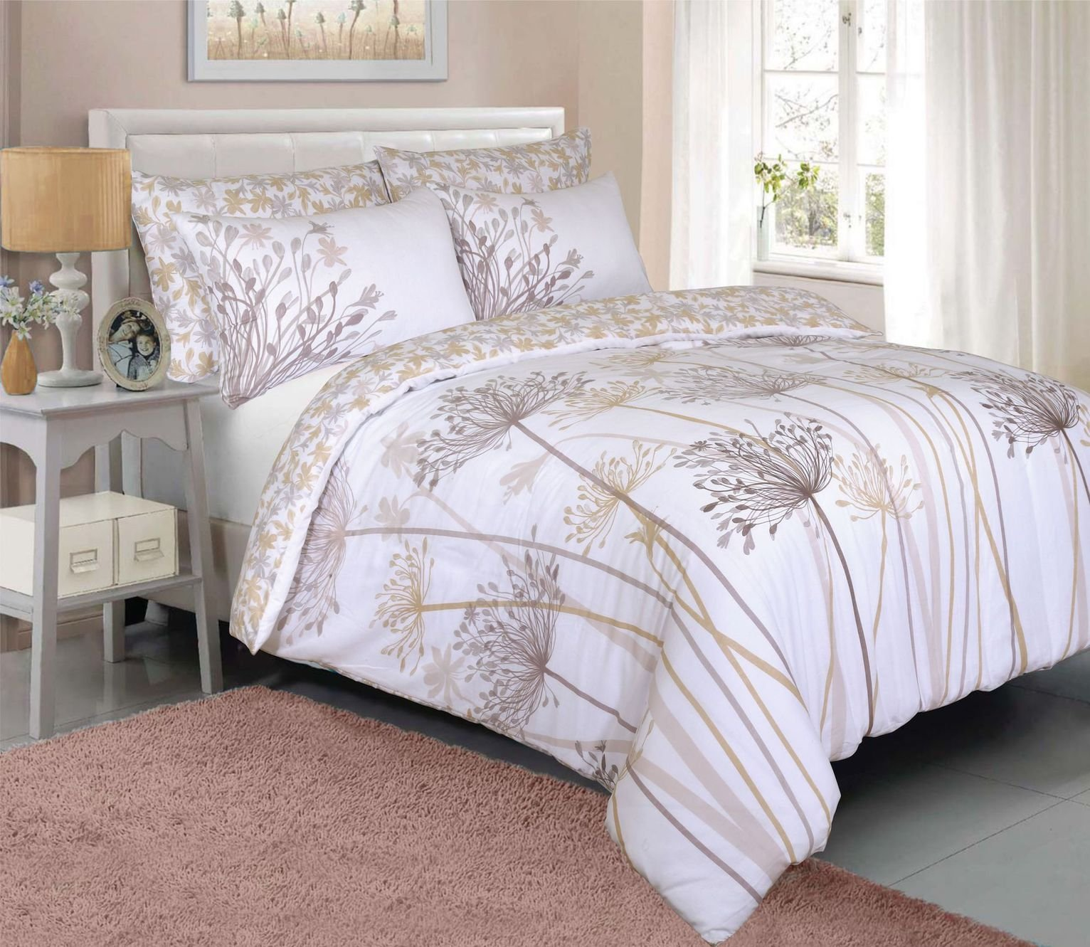 Argos Home Natural Meadow Bedding Set – Double