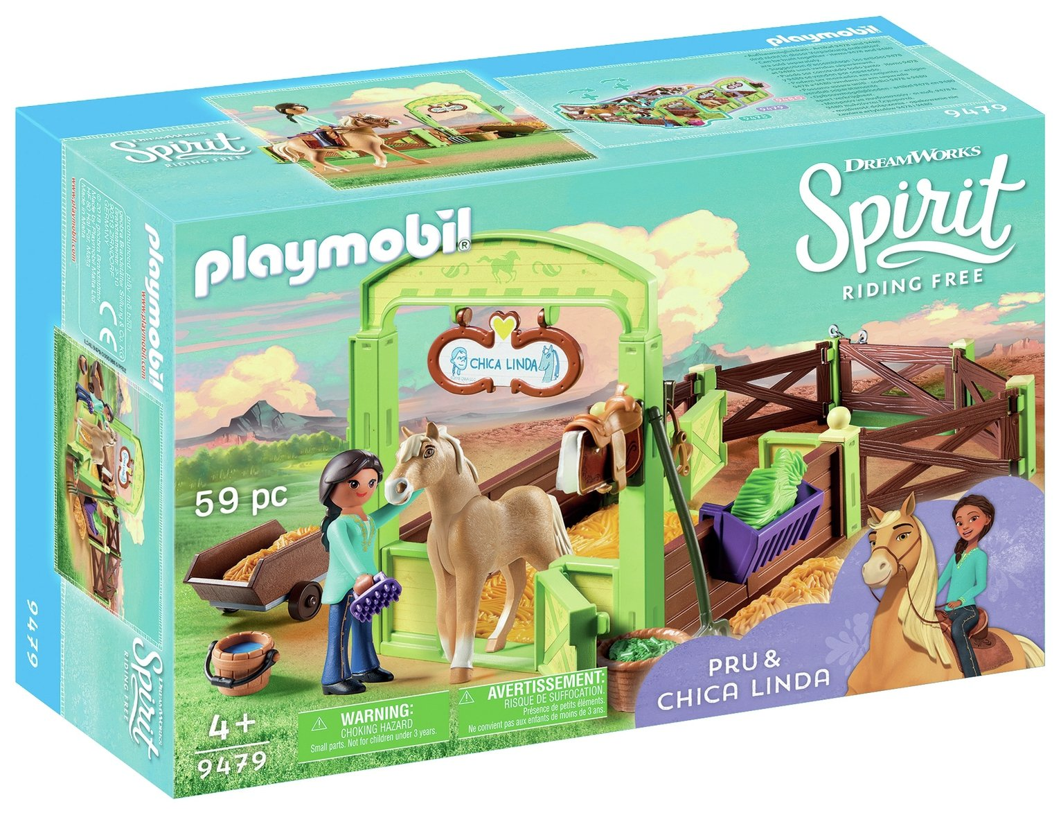 DreamWorks Spirit Pru And Chica Linda By Playmobil