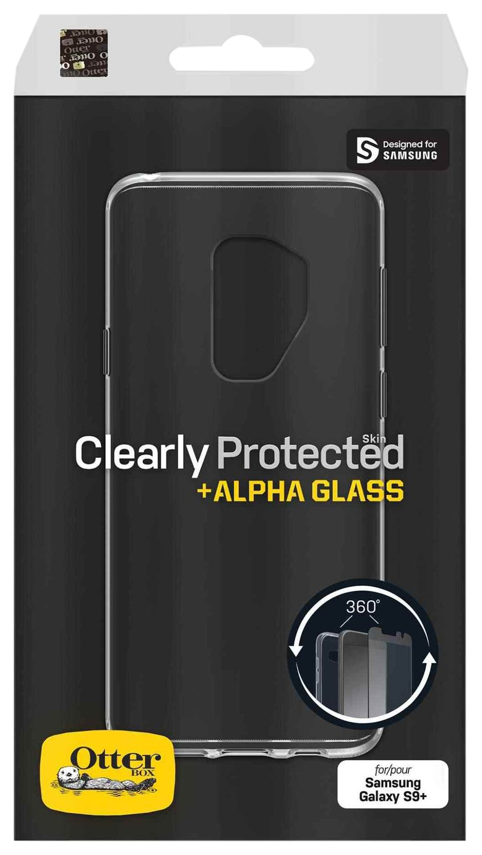 the latest 46f99 f3e1f OtterBox Alpha Glass Samsung Galaxy S9+ Screen Protector