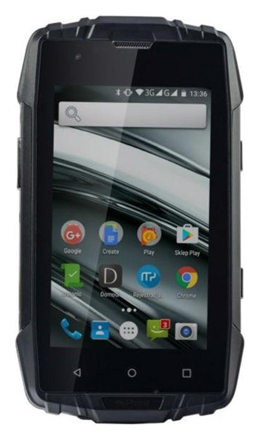 SIM Free Hammer Iron 2 Rugged Mobile Phone – Black