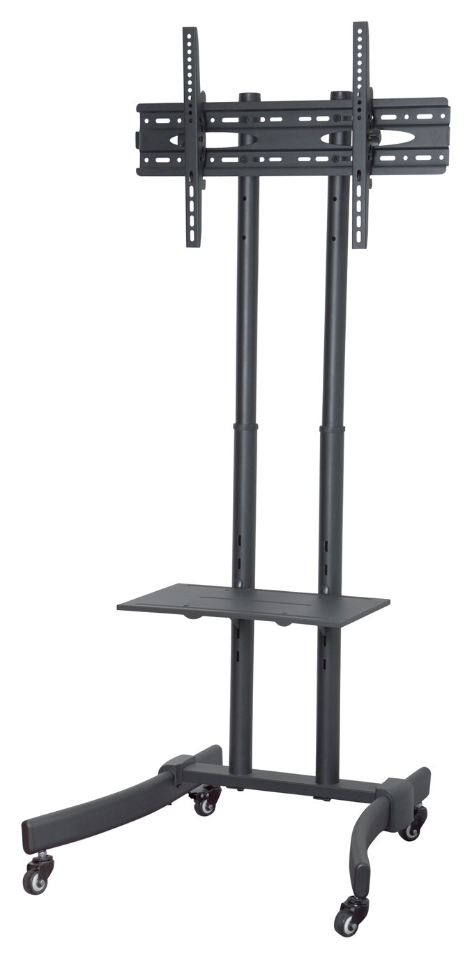 Proper AV Portable TV Trolley Stand Up to 65 Inch