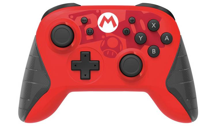Buy Nintendo Switch Wireless Pro Controller - Mario | Nintendo Switch  accessories | Argos