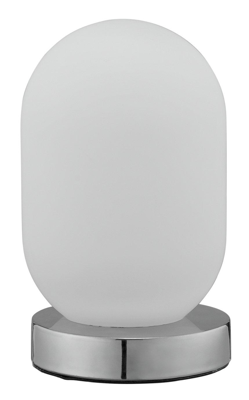 Argos Home Pill Opal Glass Touch Lamp