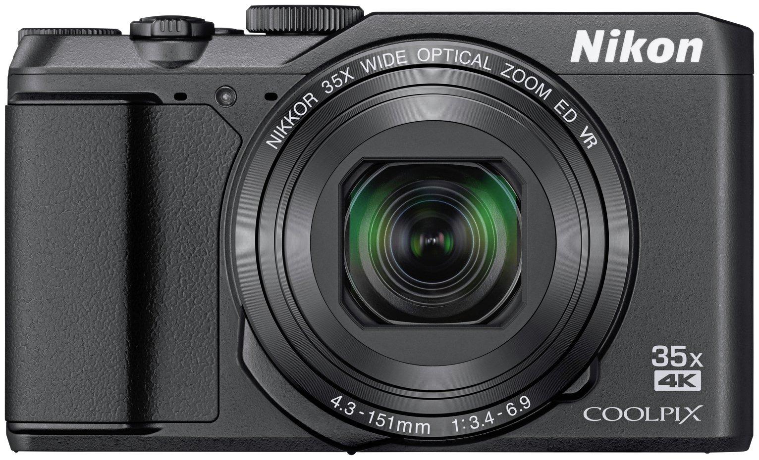 Nikon Coolpix A900 20MP 35x Zoom SZ Compact Camera - Black