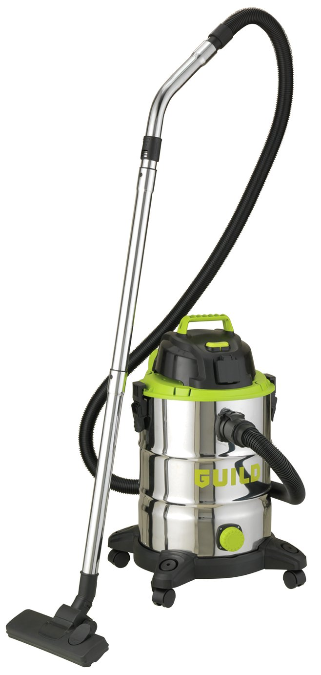Guild 30L Wet & Dry Cleaner with Power Take Off - 1500W