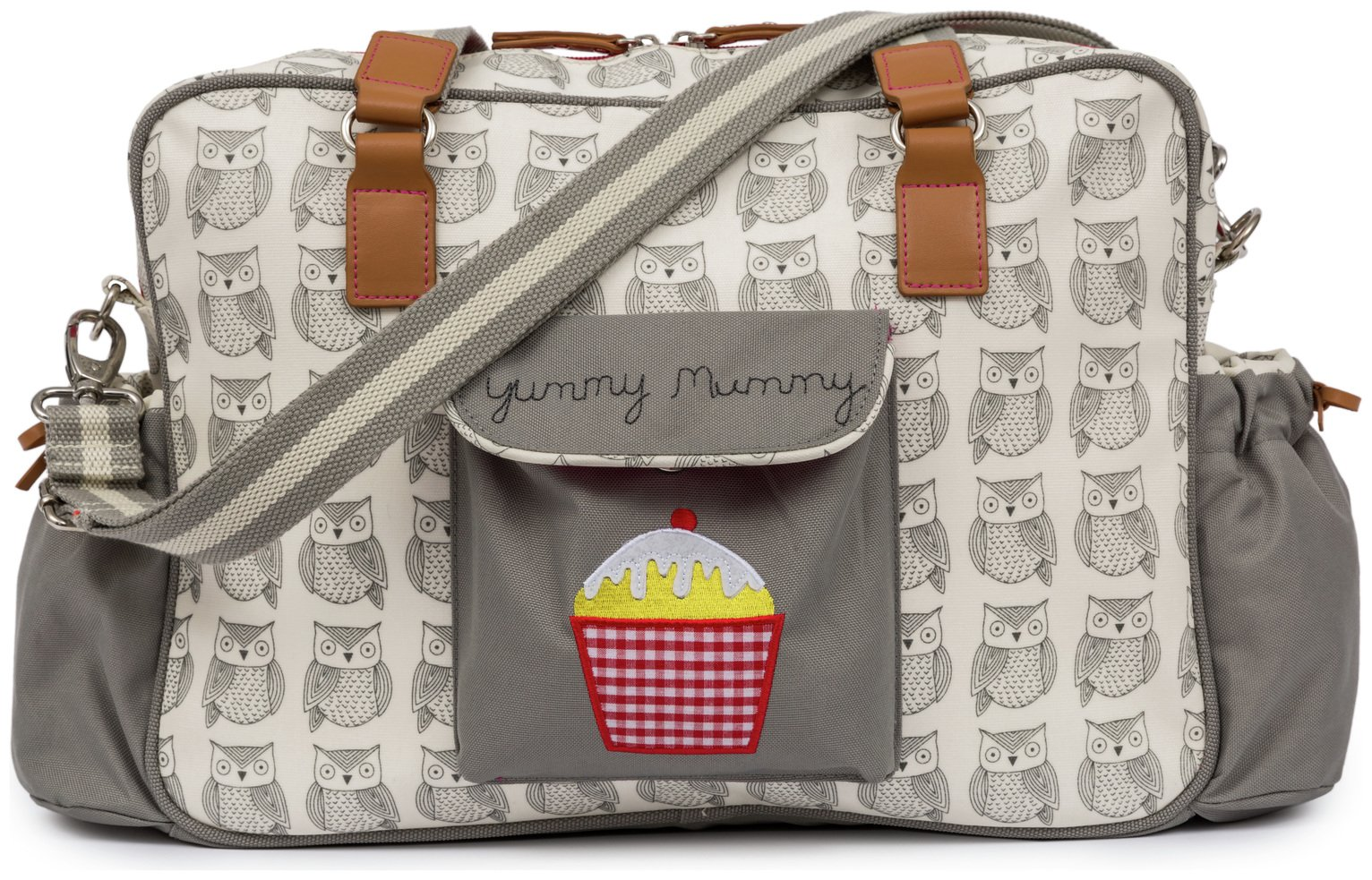 Pink Lining Yummy Mummy Bag - Wise Owl
