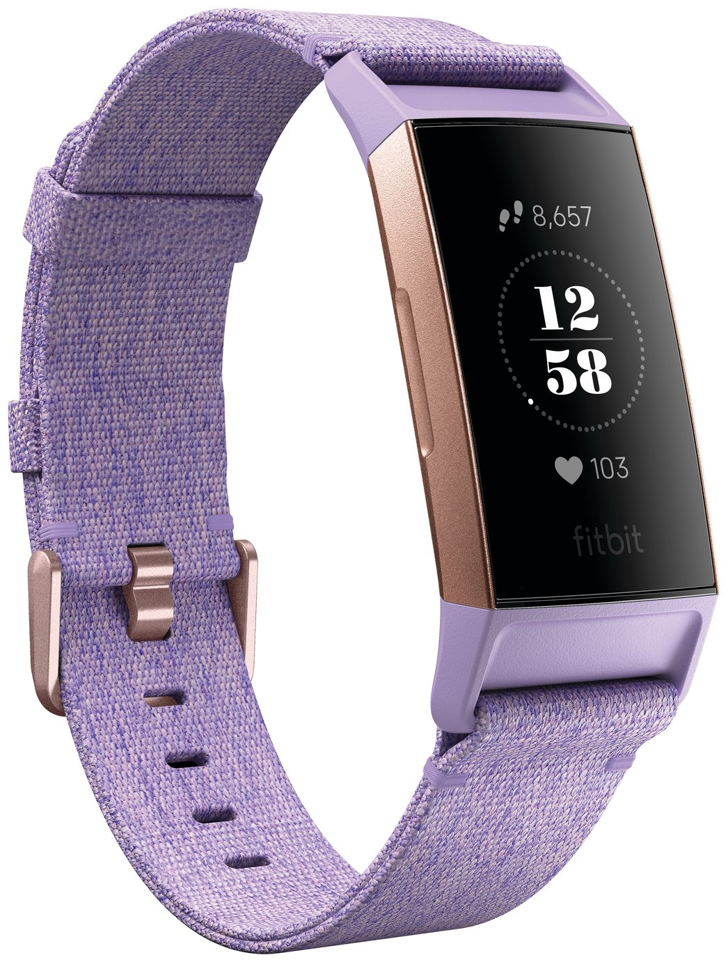 Fitbit Charge 3 Special Edition Smart Watch - Lavender