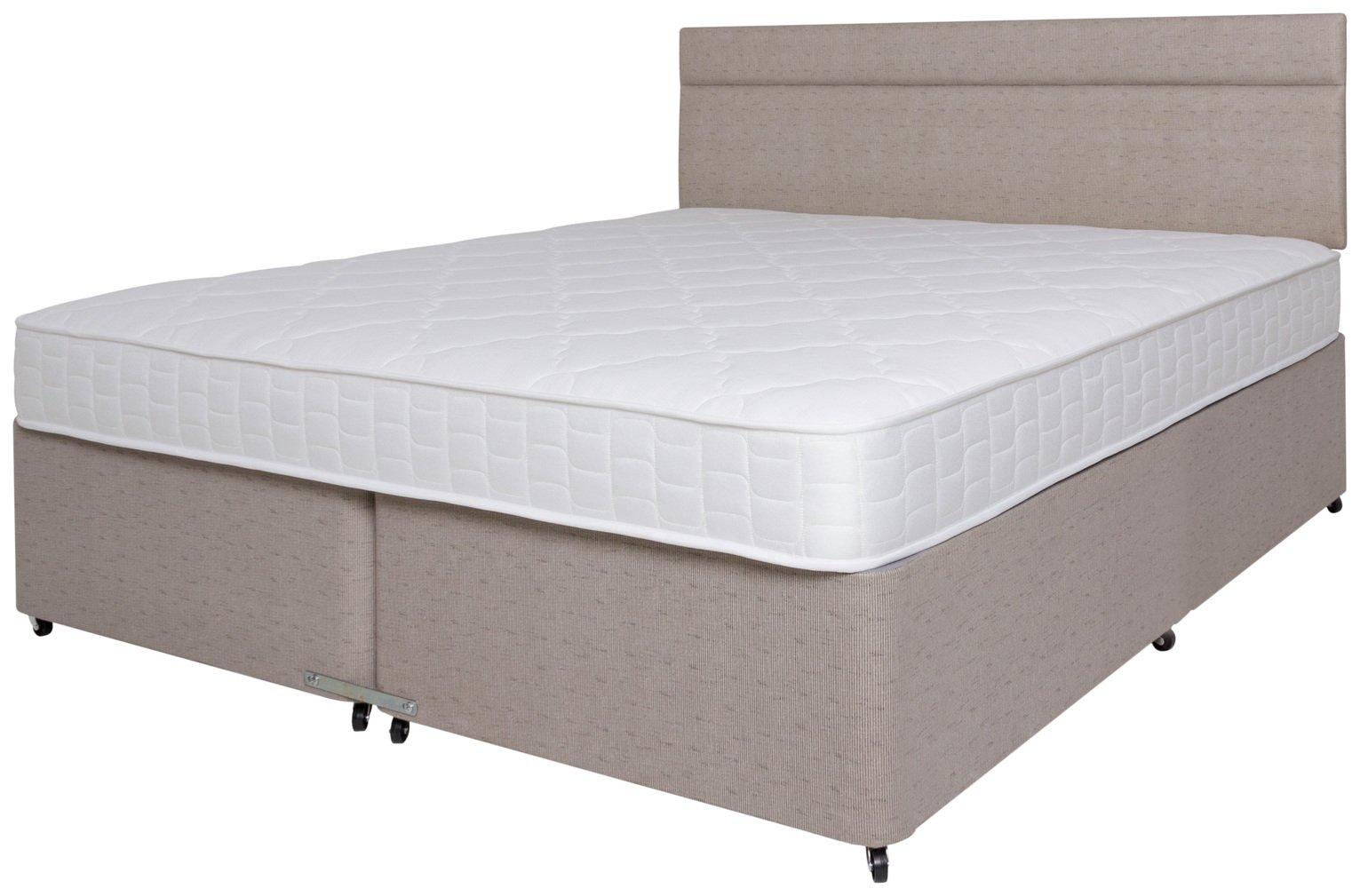 Airsprung Bower Memory Divan Bed - Superking