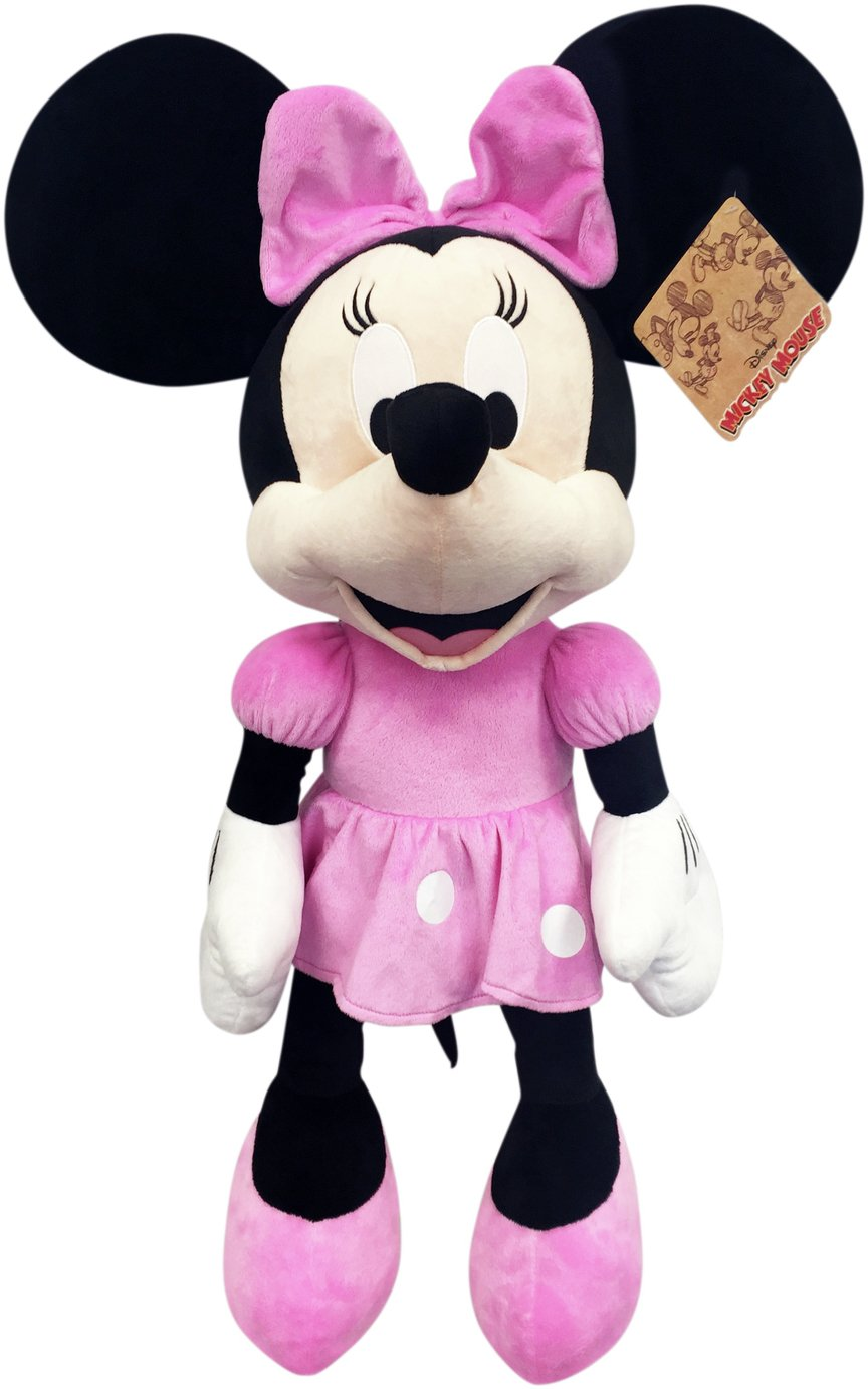 Buy Disney Minnie Mouse 90th Anniversary Plush Toy Large Teddy
