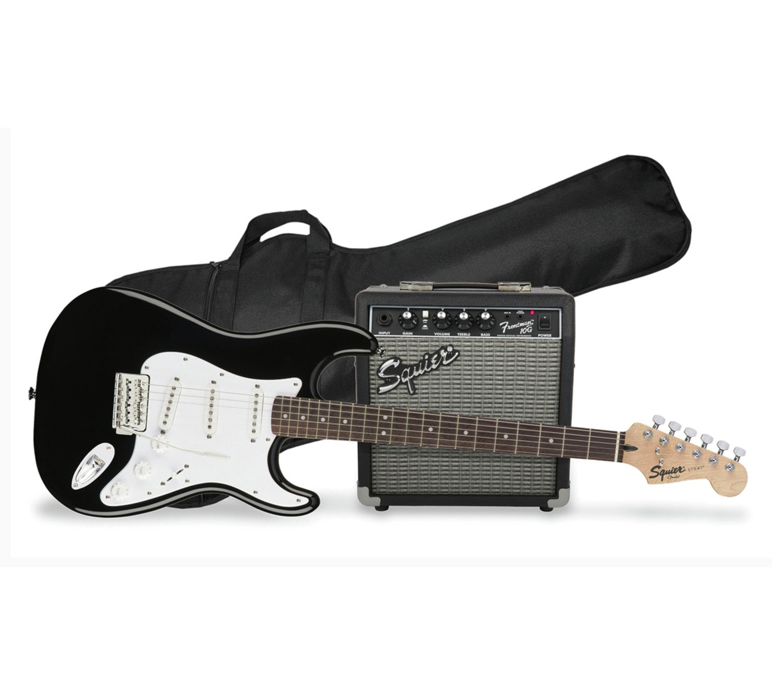 Squier By Fender Electric Guitar Pack - Black