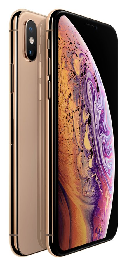 Sim Free iPhone Xs 512GB Mobile Phone - Gold