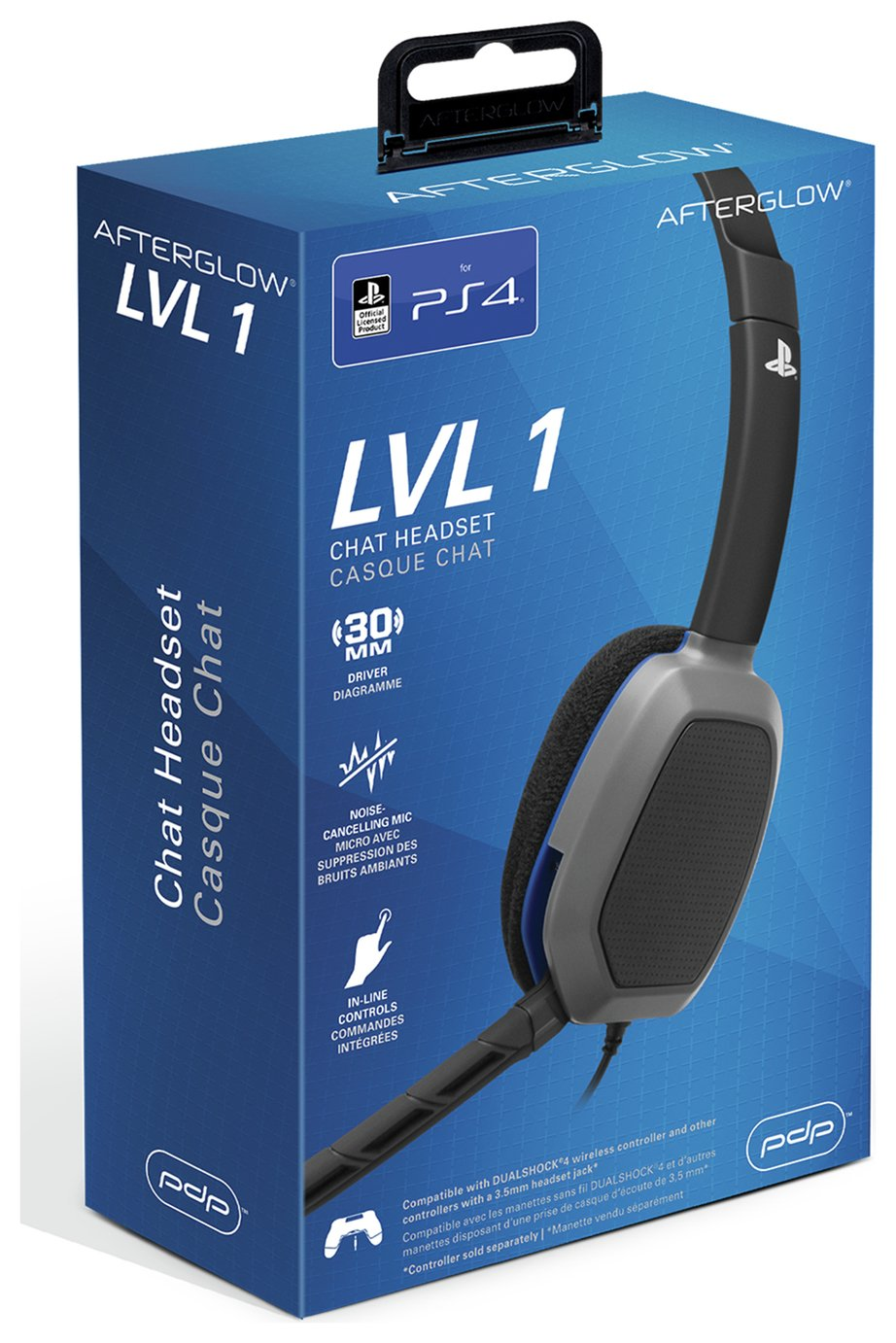 Compare prices for Afterglow LVL1 Communicator PS4 Gaming Headset