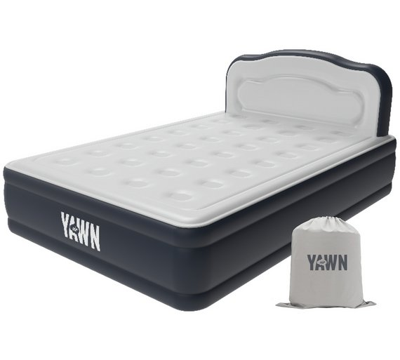 Buy Yawn Luxury Raised Air Bed With Headboard Double Air Beds