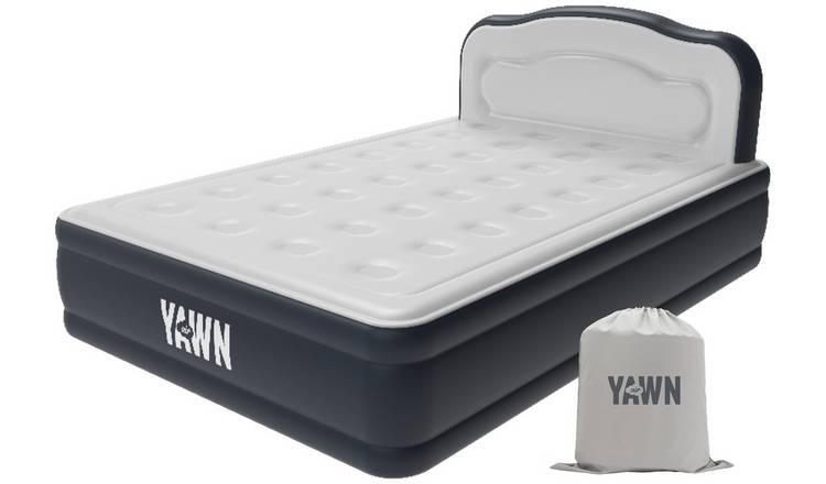 Buy Yawn Luxury Raised Air Bed With Headboard Double
