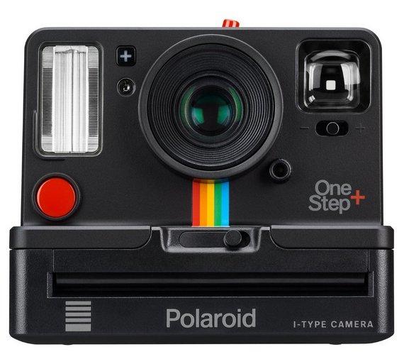 buy polaroid onestep plus camera black instant cameras argos