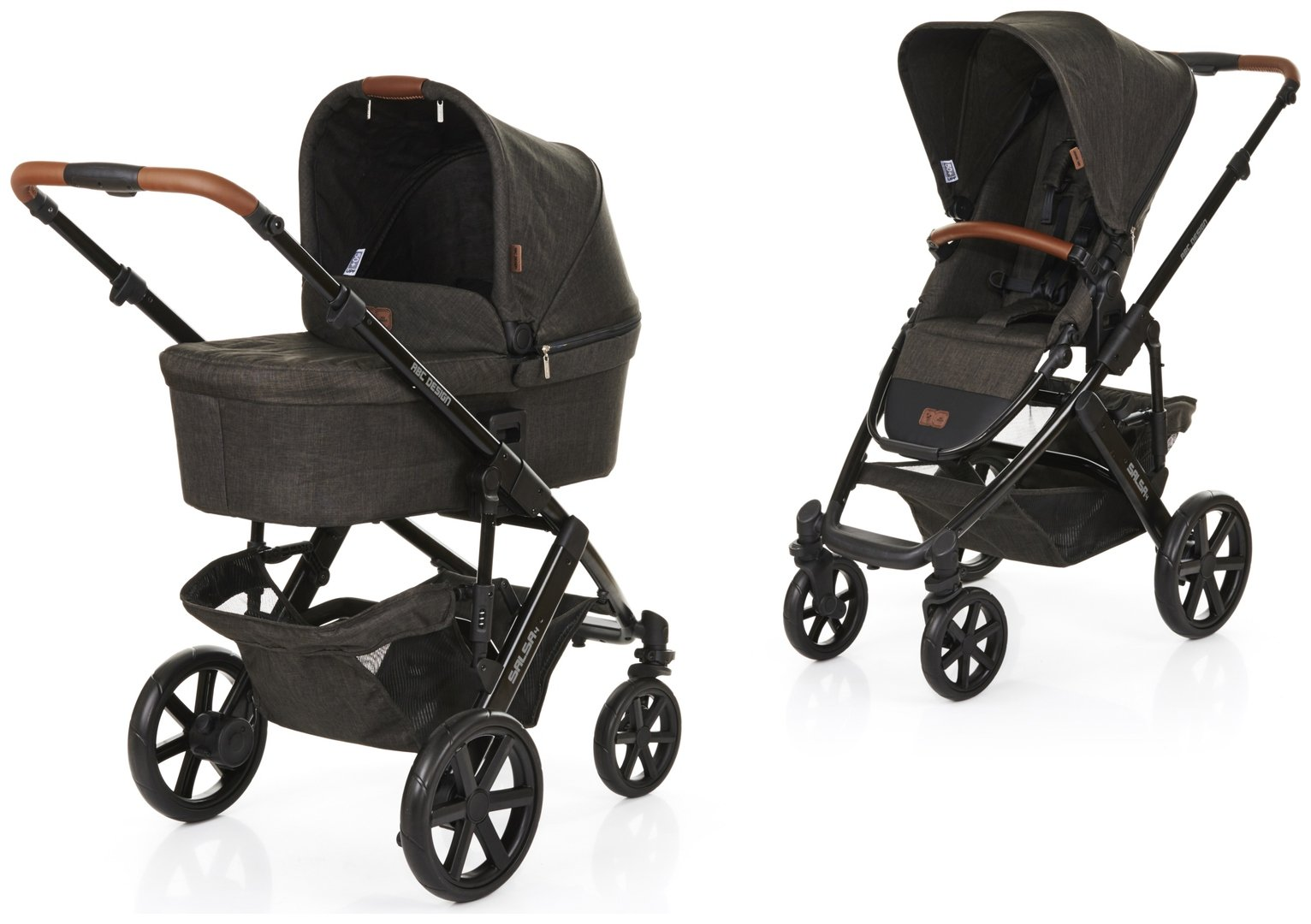 Image of ABC Design Salsa 4 Pushchair and Carrycot - Piano