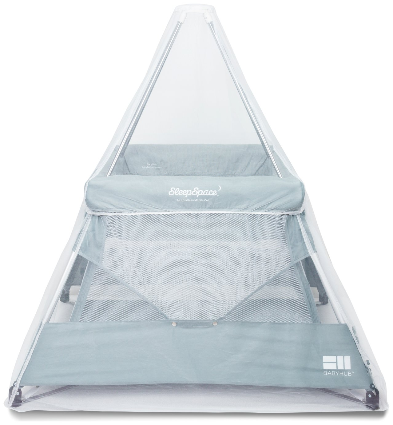 BabyHub SleepSpace Travel Cot with Tepee
