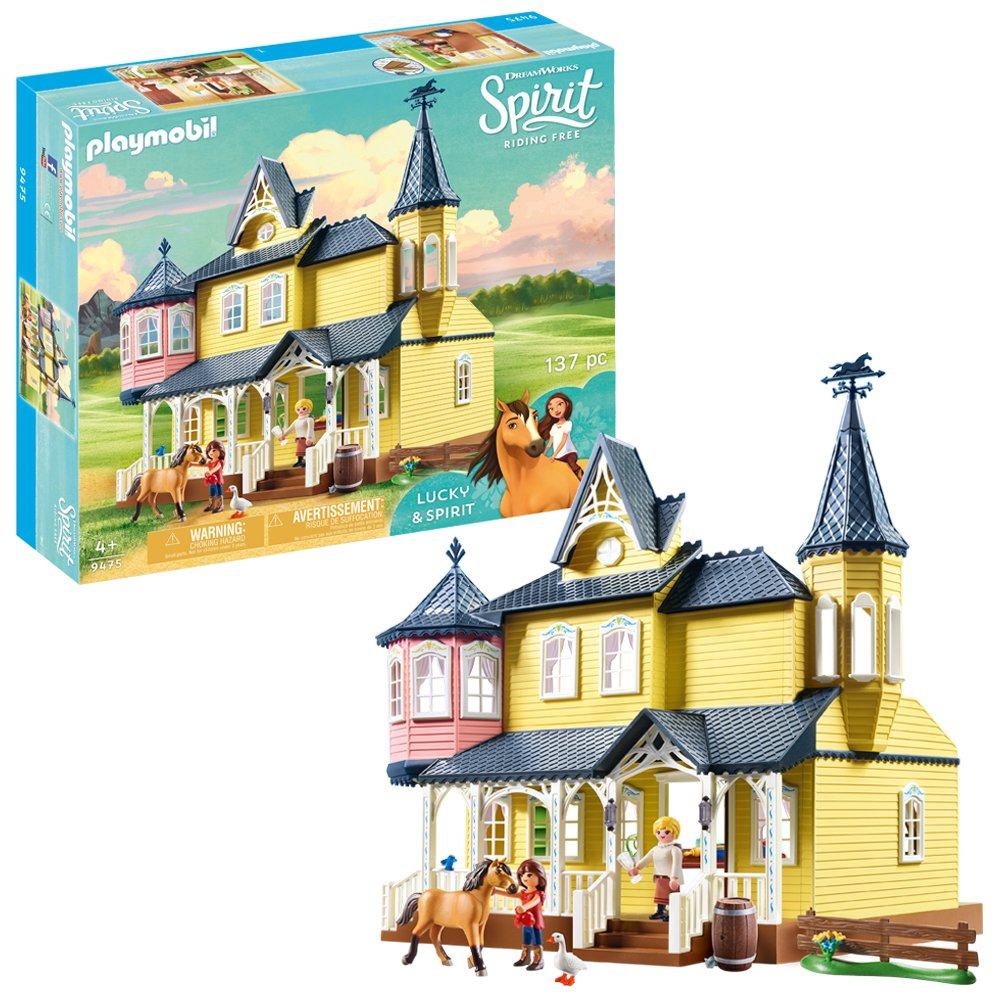 DreamWorks Spirit Lucky's Happy Home By Playmobil