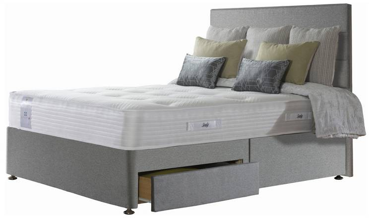 Sealy Activ 1800 Pocket Memory 2 Drawer Kingsize Divan