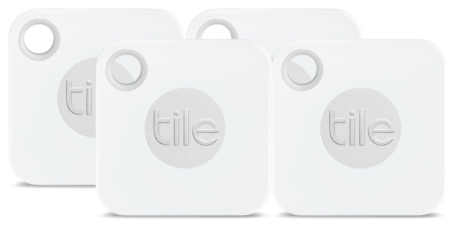 Tile Mate 2018 Phone and Key Item Finder - Pack of 4