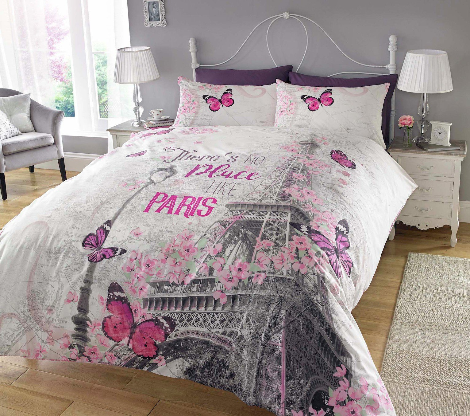 Argos Home Paris Romance Bedding Set - Kingsize