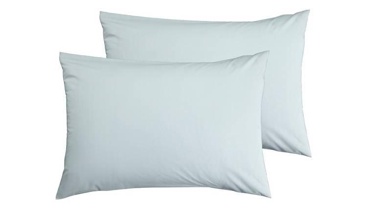 Cotton Rich Standard Pillowcase Pair
