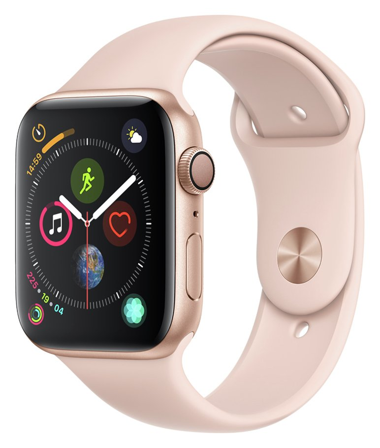 Apple Watch S4 GPS 44mm - Gold Aluminum / Pink Sand Band