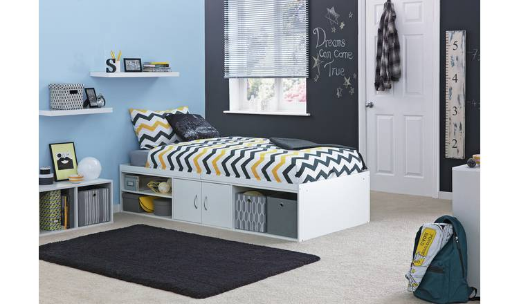 Argos Home Freddie Cabin Bed Frame - White