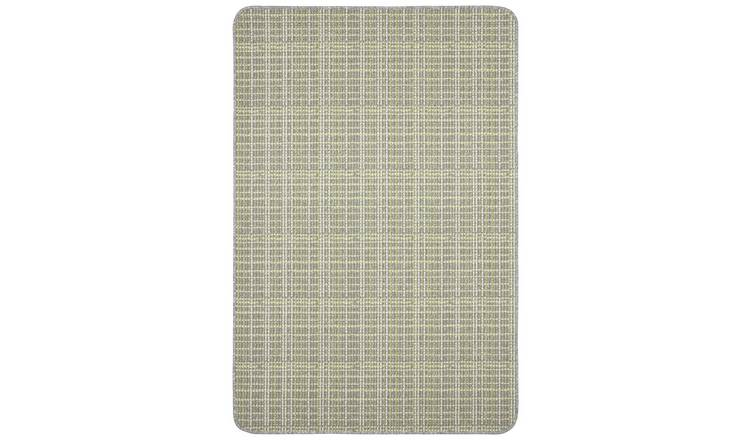 Dandy Warren Washable Rug - 150x100cm - Grey Lime