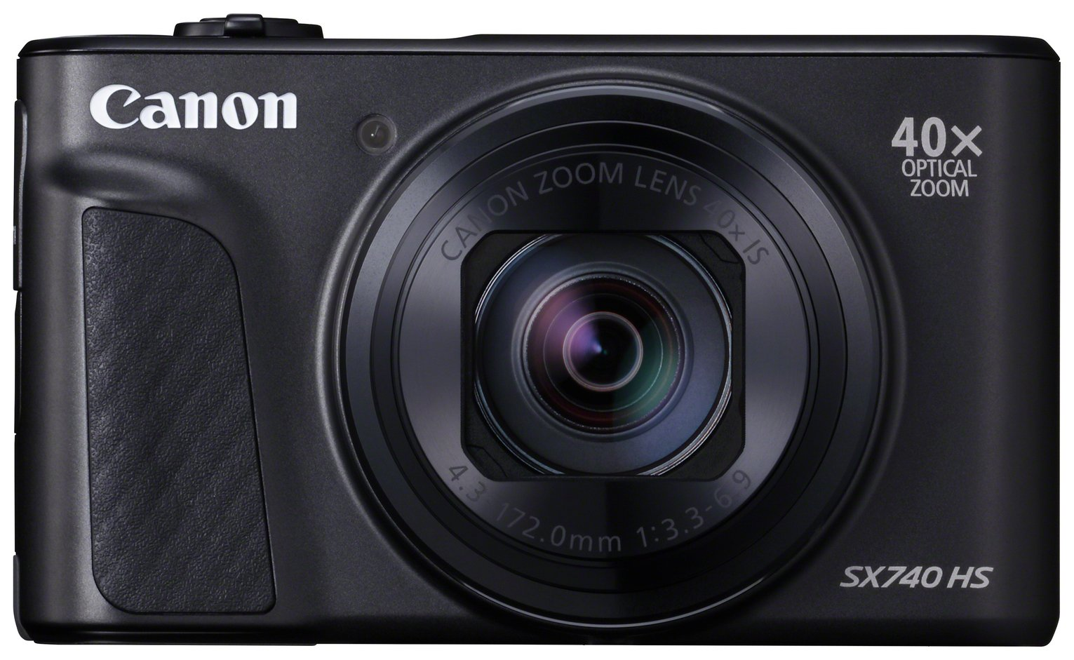 Canon PowerShot SX740 HS 20.3MP 40x Zoom Camera - Black